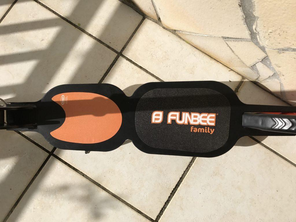 trottinette Funbee Familly plateaux
