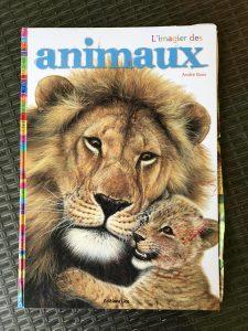 l'imagier des animaux de André Boos - première de couverture