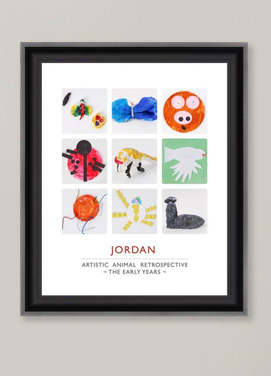 recycler les dessins de nos enfants